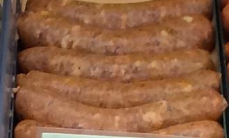 andouille pork sausage