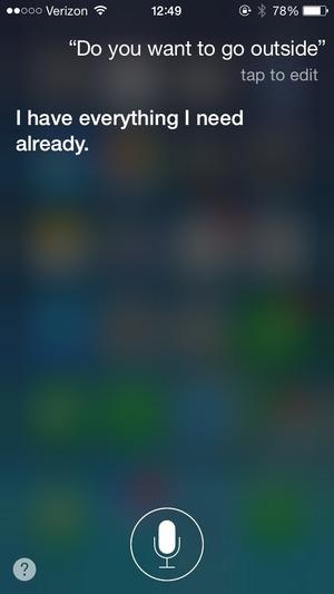 Siriへの会話パターン3