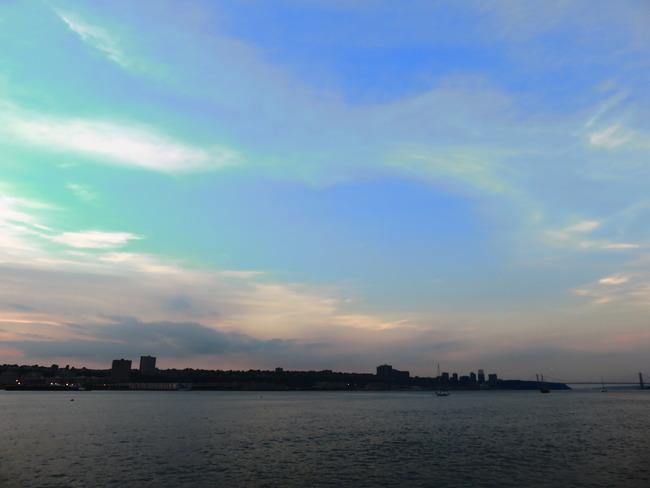 アメリカの空(夕日)