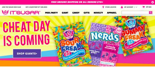 it's sugarのホームページ