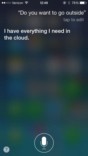 Siriへの会話パターン2