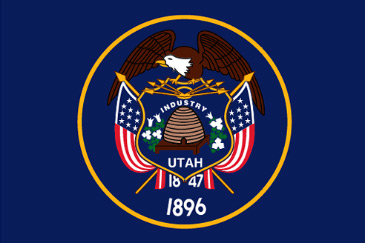 ユタ州 州旗 アメリカ州・ニックネーム:ユタ州/Utah - livedoor Blog(ブログ