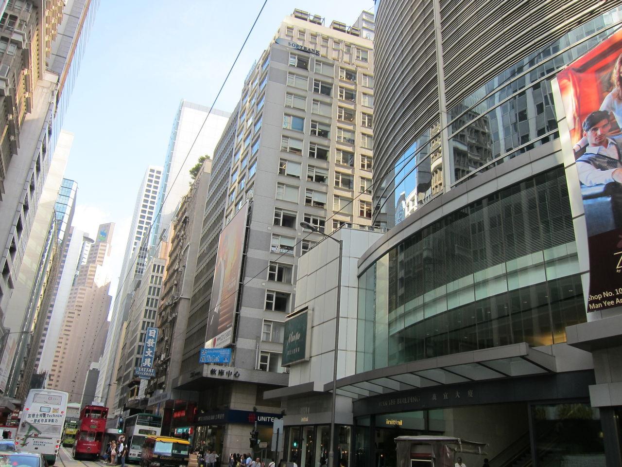 ≪香港街中≫≪観光≫しかし、契約の為に一旦建物の中に入ってしますと、冷房... アメジスト香港