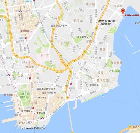 馬頭角公衆碼頭   Google マップ(1)