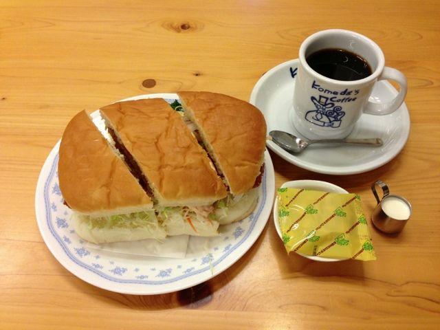 コメダ珈琲とかいうお食事どころwwwwwww