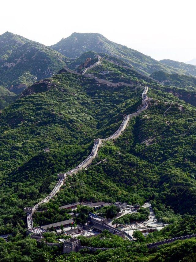 先週北京と万里の長城に行ってきたから写真載せてく