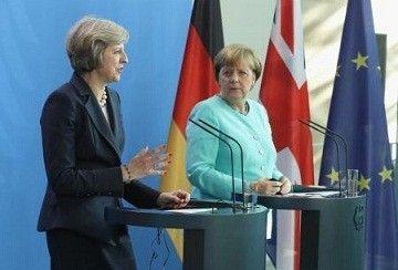 【直球ワロタw】イギリス新首相がドイツ訪問「イギリスは移民いらない。譲歩もしない。よこさないで」 メルケル(´・ω・`)
