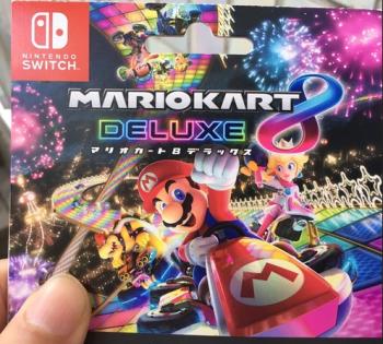 【朗報】Switch版マリオカート8DXの容量は7GBと判明、DL版購入もアリ!!