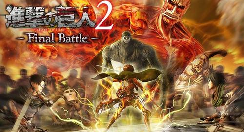 """【朗報】Switch/PS4「進撃の巨人 -Final Battle-」立体機動アクションが楽しめる体験版が4月下旬に配信決定!""""幕末志士""""とのコラボも"""