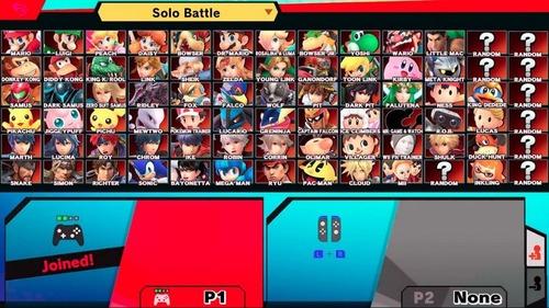 【リーク】スマブラSPのキャラクター選択画面がリーク!あと9体のファイターが参戦する!?