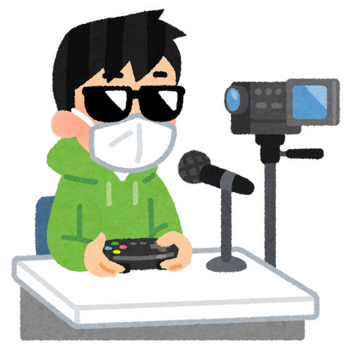 ワイ、ゲーム系ユーチューバー 先月の収益が3千円を超える