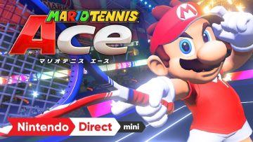 Switchで出る「マリオテニス エース」はかなり期待できそう!