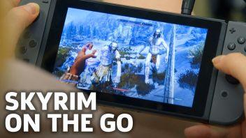 スイッチ版「スカイリム」 TVモードの軽快な動作が確認できるテストプレイ映像が公開!