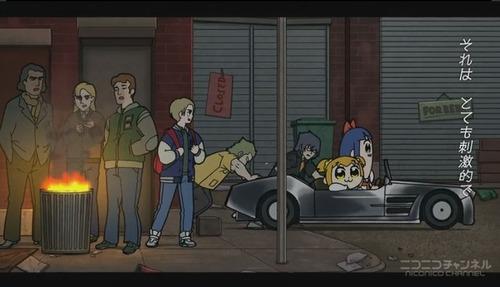 【驚愕】人気アニメ『ポプテピピック』に『FF15』キャラクターが登場 !? スクエニ公式「クソアニメに感謝しかありません」