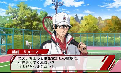 3DS「新テニスの王子様 ~Go to the top~」 画面写真が初公開!かなりキレイに再現されてる!!