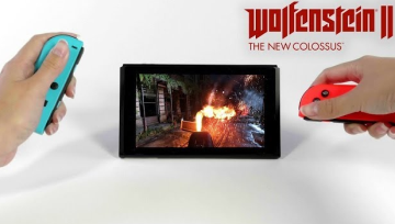 Switch版「ウルフェンシュタイン2」が本日発売!ローンチトレーラー公開、テーブルモードでも快適操作を実現!!