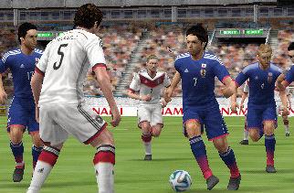 「ワールドサッカー ウイニングイレブン 2014 蒼き侍の挑戦」 3DS体験版が配信開始! PS3体験版は4月24日配信