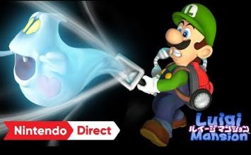 3DSリメイク版『ルイージマンション』、発売日が10/19に決定!!