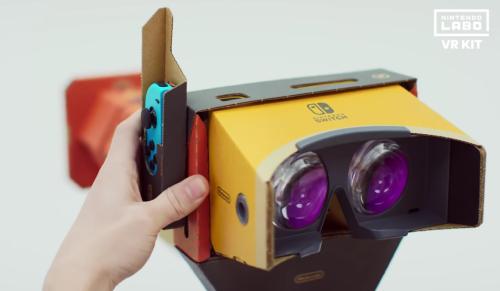 【朗報】Nintendo Labo VR Kitが海外で絶賛、VRの概念を覆すと喝采を浴びる!