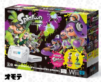 【速報】スプラトゥーンがインストールされたamiibo同梱版WiiUが7月7日(木)発売決定 きたあああぁぁぁっ!!