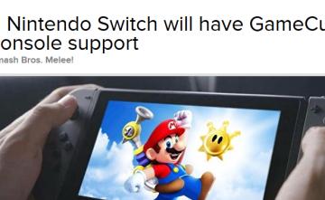 【神ハード確定】任天堂スイッチのVCでゲームキューブが対応が確定!「スマブラDX」や「マリオサンシャイン」など名作準備中
