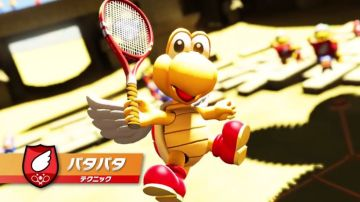 【朗報】Switch「マリオテニスエース」にDLC追加キャラ『パタパタ』参戦決定!!