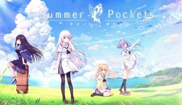 """【速報】""""泣きゲー""""Key最新作、「Summer Pockets」最新情報きたああぁ!ティザームービー公開、6/29発売!!"""