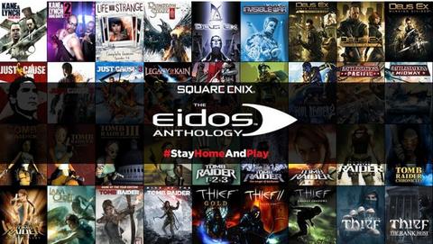 【朗報】スクエニタイトル54本セットがなんと95%オフ!『Square Enix Eidos Anthology』期間限定で配信開始! 8万円超の内容が約4000円に