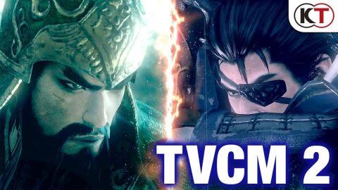 PS4「真・三國無双8」TVCM第2弾 & オープニングムービーが公開!!