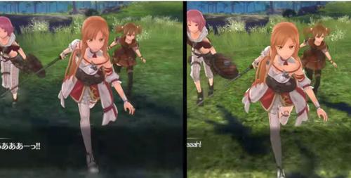 【比較動画】「ソードアート・オンライン ホロウ・リアリゼーション」Switch版とPS4版の比較動画、かなり差がある