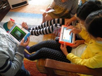 いま子供たちの心を奪っているのはタブレットとスマートフォン。3DSを追い抜く