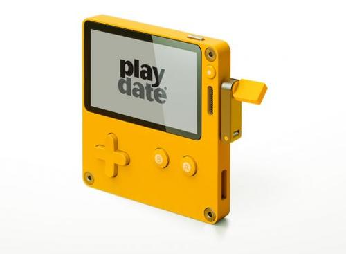 【速報】モノクロ手軽な新たな携帯ゲームハード「Playdate」が発表!!