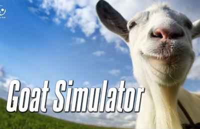 ヤギで暴れまわるカオスゲー「Goat Simulator」 4月1日Steamリリース決定!