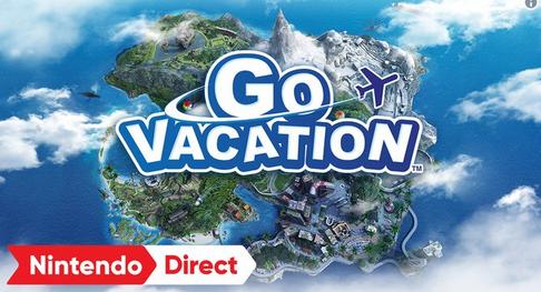 Switch版「GO VACATION」遊びホーダイのリゾート体験、12/27発売決定!!