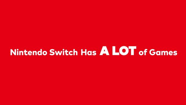 任天堂「Nintendo Switchには2480本以上のゲームタイトルがある!」