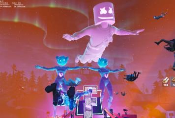 【朗報】フォートナイトさん、ゲームの中でアーティストがライブをしてしまうwww