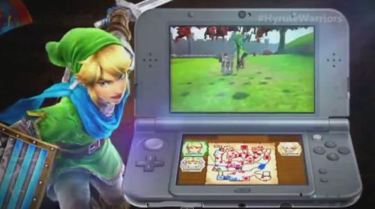 3DS版「ゼルダ無双」が正式発表、発売時期は2016年前半に!