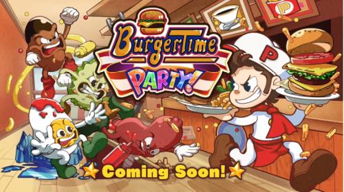 【復活】『バーガータイム』シリーズの完全新作「バーガータイムパーティー」がSwitchで2019年発売決定!!