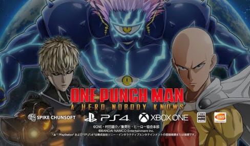 【速報】「ワンパンマン」ゲーム化決定きたああああぁぁぁっ!3対3の対戦アクション、PS4/XB1向けに発売!!
