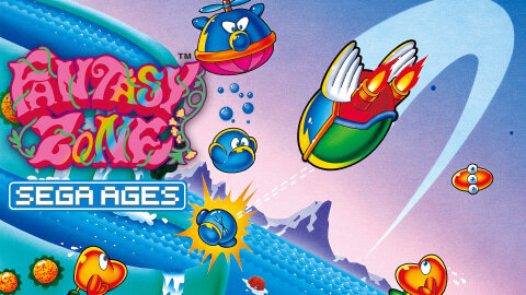 Switch「SEGA AGES ファンタジーゾーン」 11/28配信決定!3DS版ベースに調整、追加要素アリ