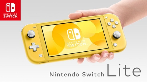 【本日発売】Nintendo Switch Liteのイエローカラーさん、人気ない