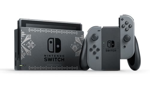 【速報】イーカプコンにて「モンスターハンターダブルクロス Nintendo Switch Ver. スペシャルパック」が予約開始!モンハン仕様のNintendo Switch本体とソフトを同梱版!!
