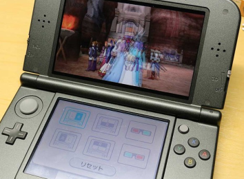 3DSの裸眼立体視って、久々に見ると結構感動するよな
