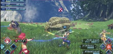ゼノブレ2 戦闘システム (2)