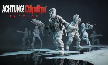 【Switch/PS4】ナチス&クトゥルフストラテジー「Achtung! Cthulhu Tactics」プレイ映像が公開!本格ターン制ストラテジー新作