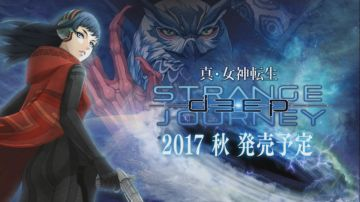 3DS「真・女神転生 ディープストレンジジャーニー」 2017年秋発売決定、PV公開!!
