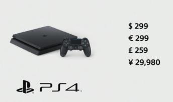 【速報】PS4 Slim 正式発表!9/15発売、価格は29,980円!!