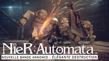 PS4 「ニーア オートマタ」 スタイリッシュなアクションが確認できる海外向けトレーラーが公開!