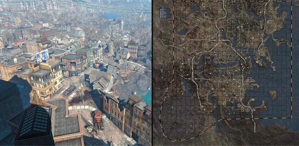 【画像比較】オープンワールドのマップの広さランキング!一番広い世界はここ!!