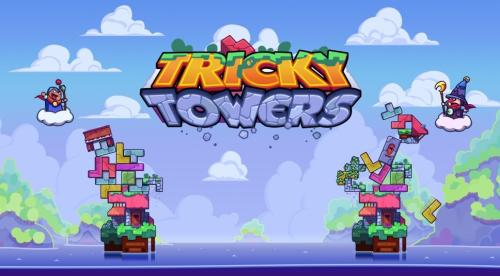 """Switch「Tricky Towers」落ちてくるテトリスブロックを消すのではなく""""積み上げていく""""異色の落ち物パズルがヤバイほど面白い!!"""